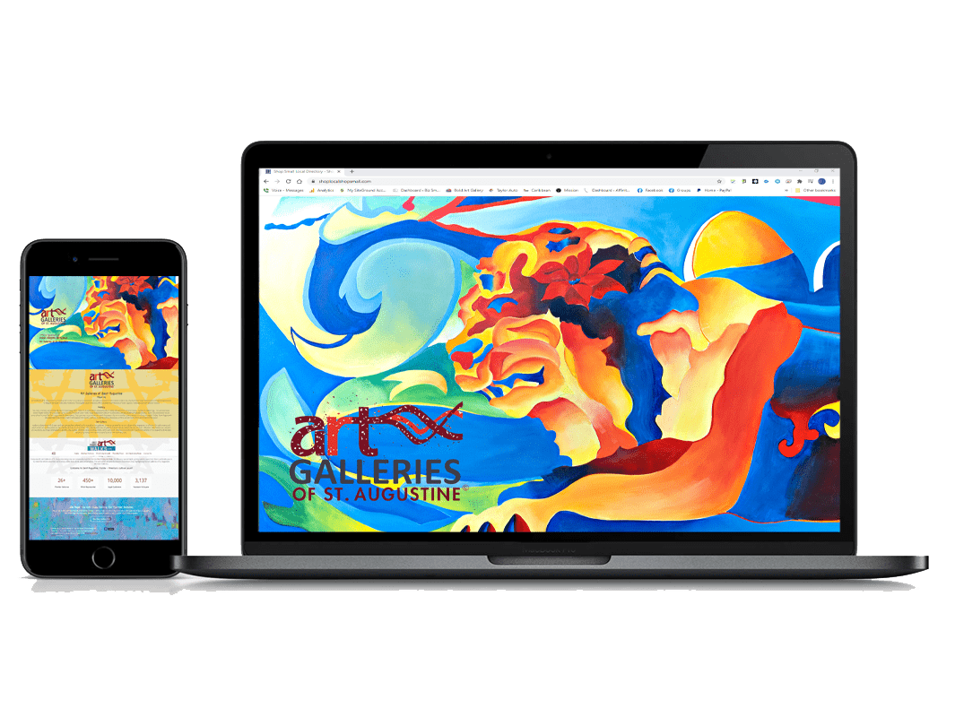 BizSmartWeb AGOSA Laptop iPhone