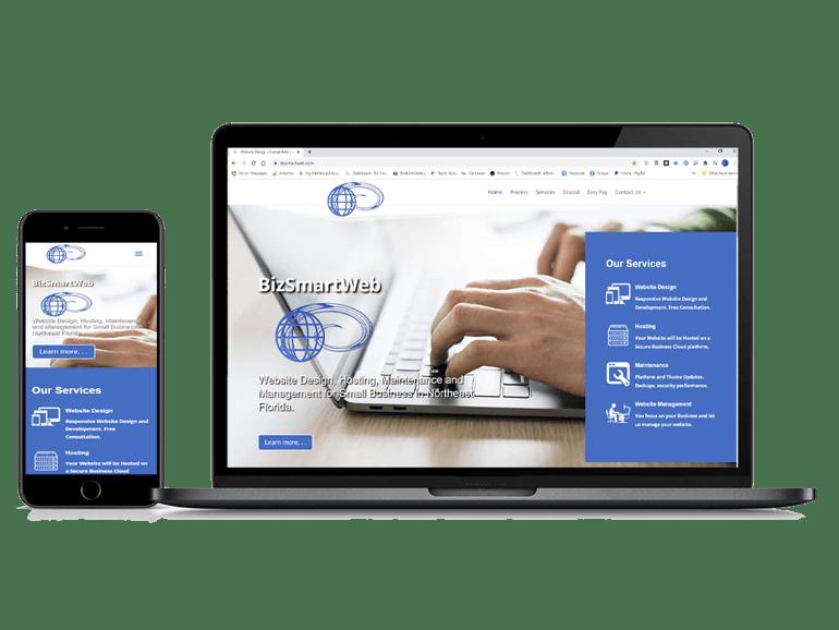 Responsive Website Design BizSmartWeb